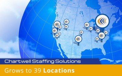 Chartwell Now One of Top Ten Woman Owned U.S. Staffing Agencies